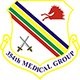 Logo: 354th Medical Group - Eielson Air Force Base